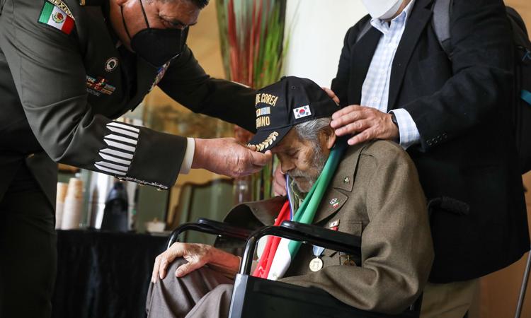 Fallece presidente de la Asociación de Veteranos Mexicanos de la Guerra de Corea