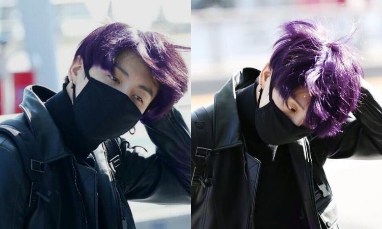 ¡El cabello púrpura de Jungkook de BTS parece ser una realidad!