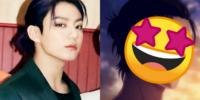 Netizens comparan a Jungkook de BTS con este personaje de anime por su nuevo peinado