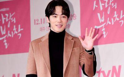 Kim Jung Hyun en conferencia de prensa de Time