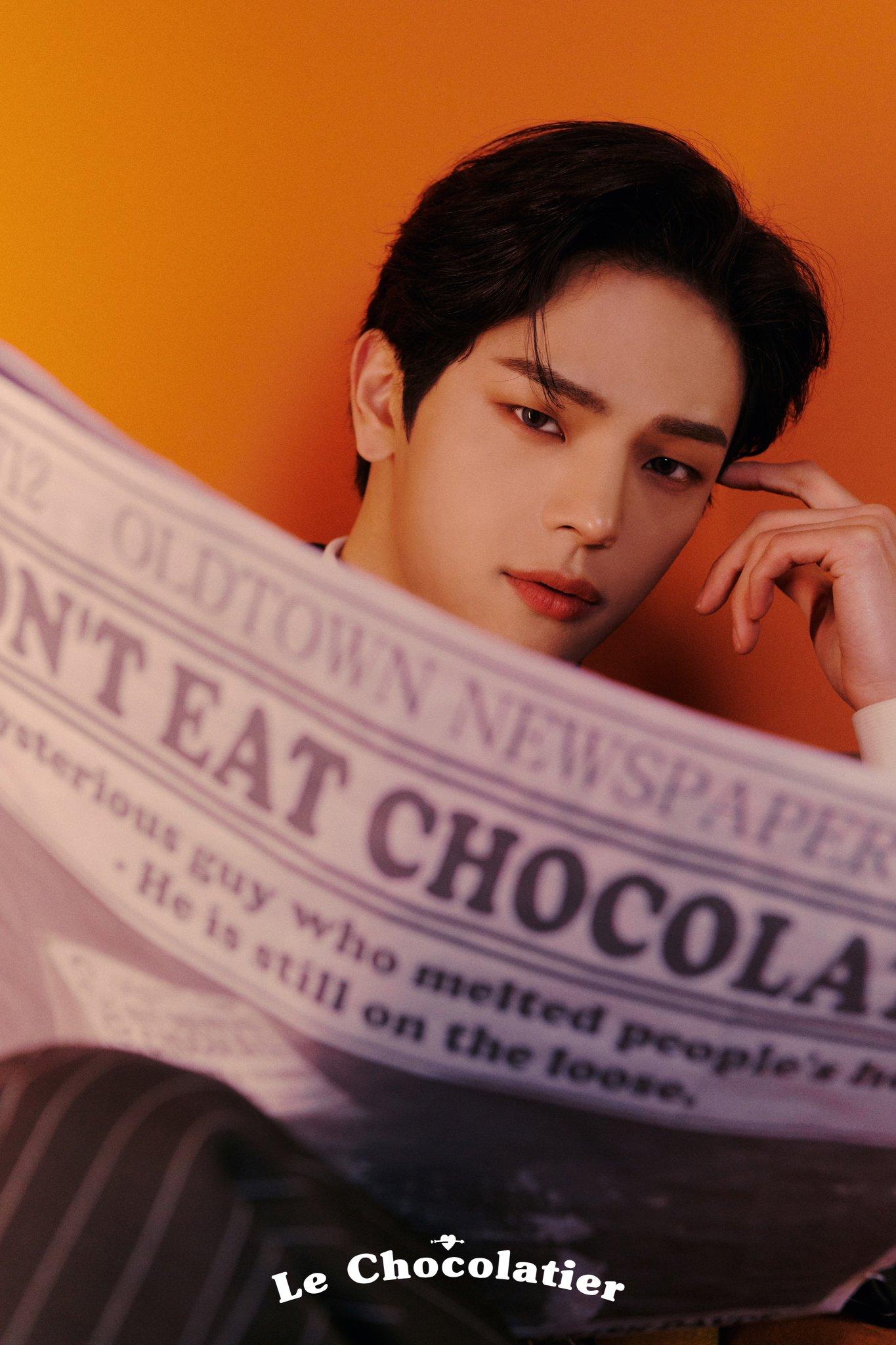 Kim Woojin adopta un concepto elegante antes del lanzamiento de su film pre-debut 'Le Chocolatier'