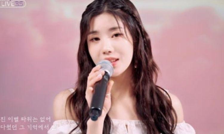Kwon Eunbi para Woollim The Live