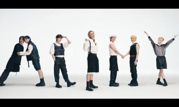 Escena del MV de Butter de BTS