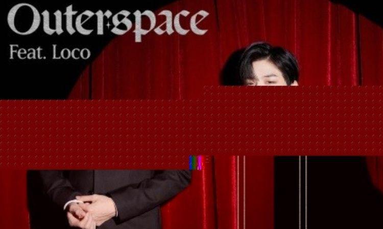 Portada de Outerspace de Kang Daniel y Loco