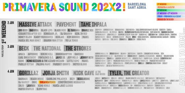 """Dreamcatcher será el primer grupo de K-Pop en actuar en el famoso festival """"Primavera Sound"""" de Barcelona"""