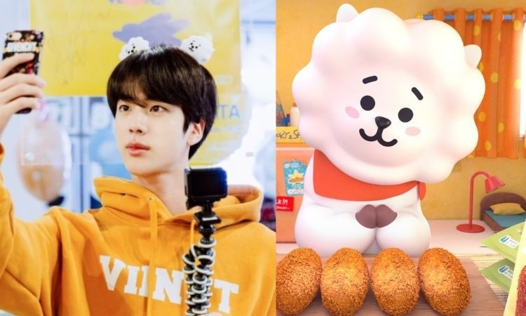 Jin de BTS y RJ de BT21