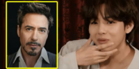 V de BTS genera caos en el grupo por no reconocer al actor Robert Downey Jr.