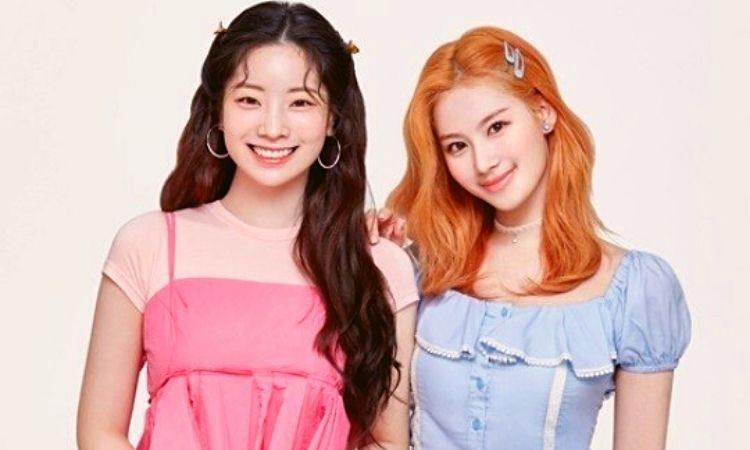 Sana y Dahyun de Twice para Star1