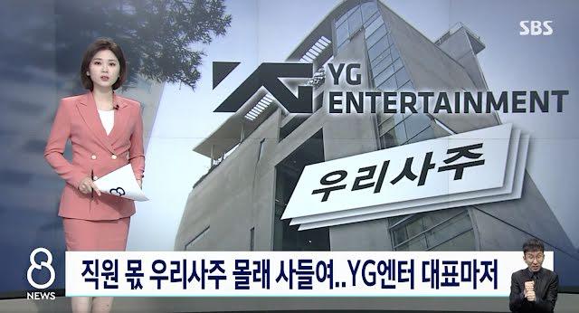 CEO de YG Entertainment y otros ejecutivos involucrados en presunto tráfico de información clasificada