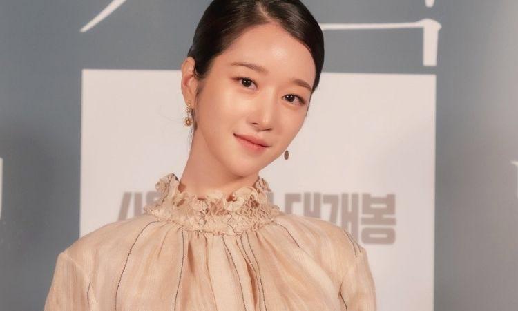 Seo Ye Ji en conferencia de prensa