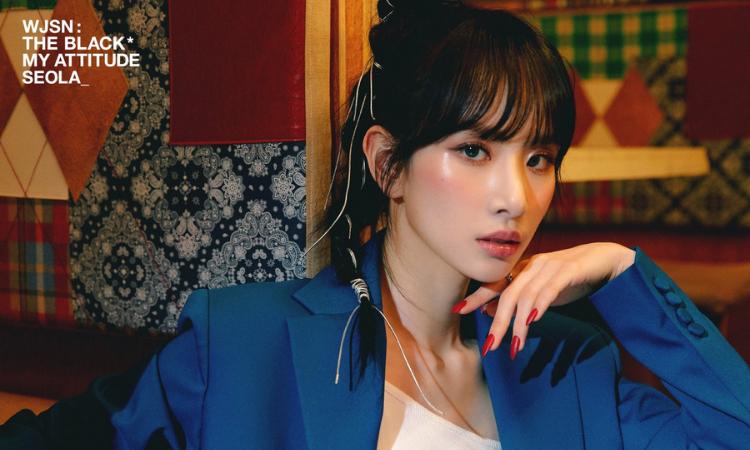 WJSN: The Black comparte nuevas fotos de Seola y Eunseo para 'My Attitude'