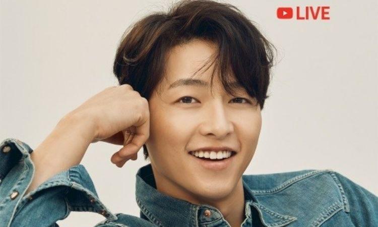 Song Joong Ki realizará uma reunião online de fãs através do YouTube ao vivo