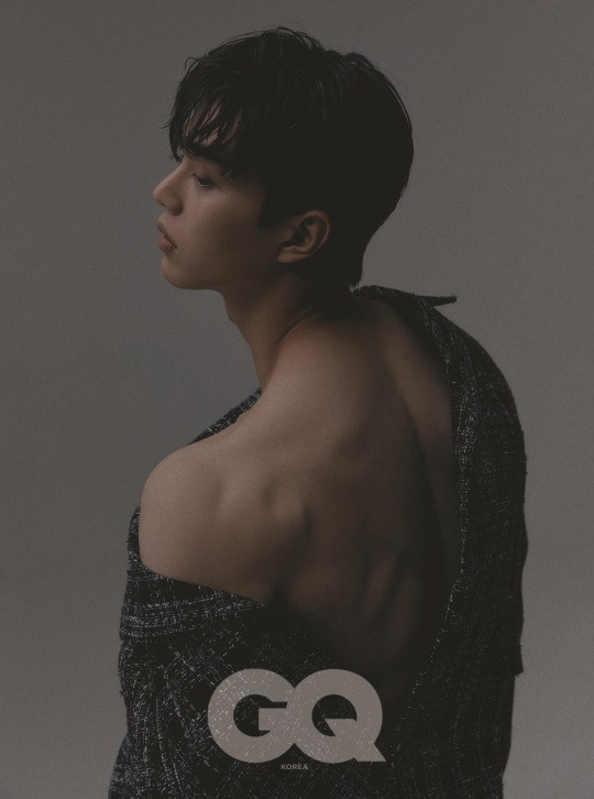 Song Kang para la revista GQ