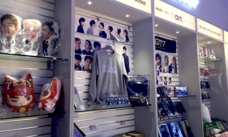 Tienda de K-pop en Corea