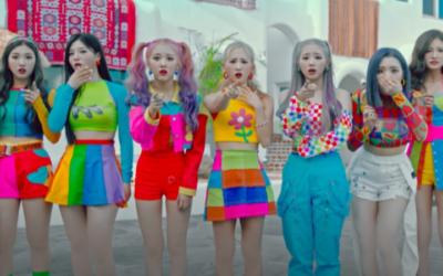 TRI.BE regresa con el colorido MV de 'RUB-A-DUM'