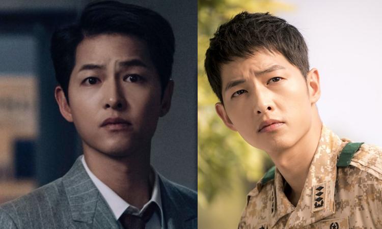 Le preguntan a Song Joong Ki a quién elige, ¿Vincenzo o Yoo Shi Jin?