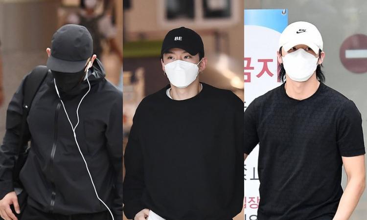 Wonho es capturado junto a Kihyun y I.M de MONSTA Xregresando de un viaje desde Jeju
