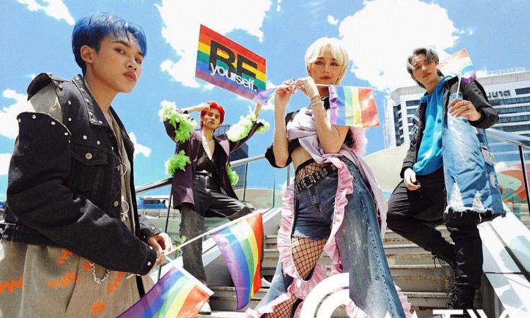 O grupo 4MIX celebra com entusiasmo o Mês do Orgulho LGBTQ+!