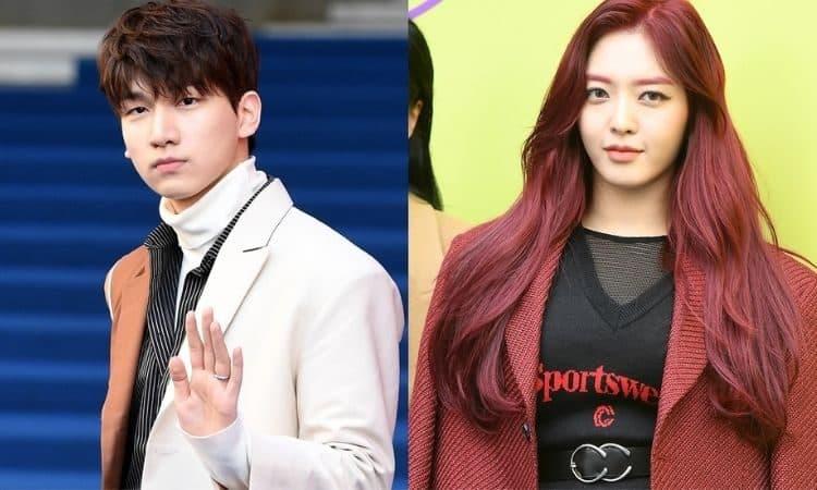 Hyuk de Vixx y Chanmi de AOA