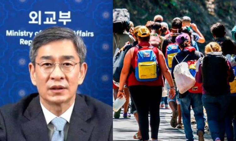 Coréia do Sul oferece ajuda humanitária aos refugiados venezuelanos