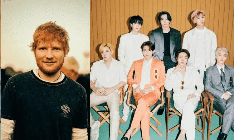 Ed Sheeran filtra el título de la nueva canción de BTS