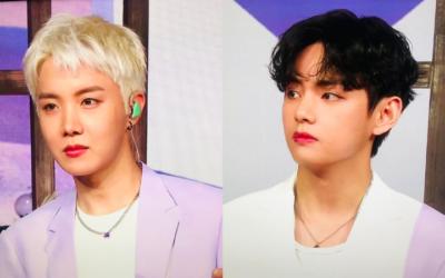 J-hope y V de BTS sorprenden a ARMY con sus nuevos y guapos cortes de cabello