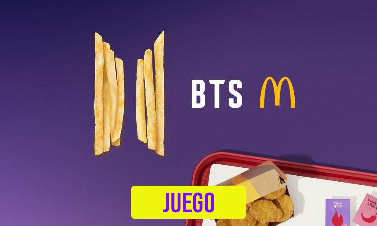 JUEGO: Arma tu combo de McDonald's y te diremos que salsa del BTS MEAL eres