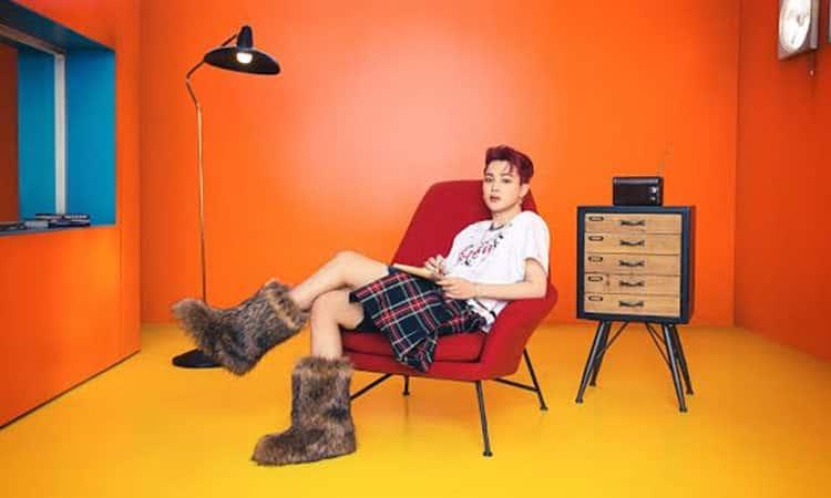 Jimin de BTS romper las normas de género al utilizar una falda en sus fotos para BUTTER