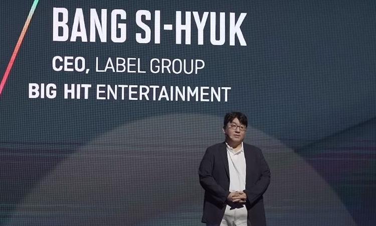 ¿Sabias que? Bang Si Hyuk ahora posee acciones que valen tanto como el presidente de Hyundai Motor Group