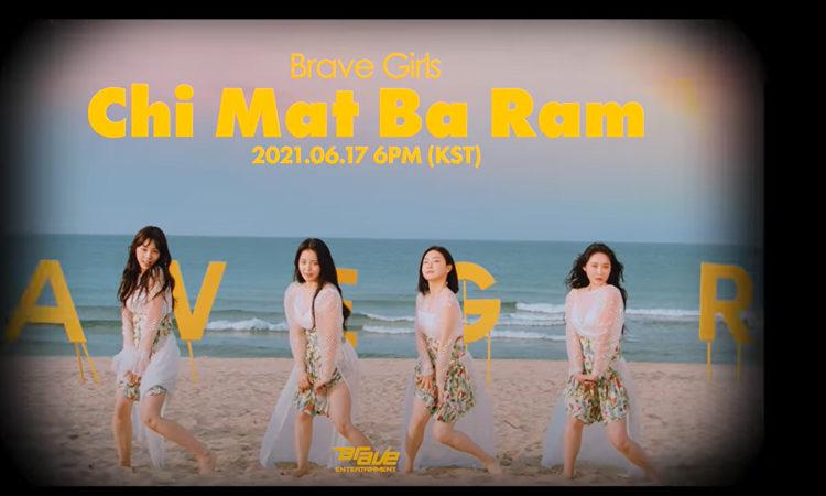 Brave Girls están listas para el verano en su MV teaser de Chi Mat Ba Ram | KPOPLAT