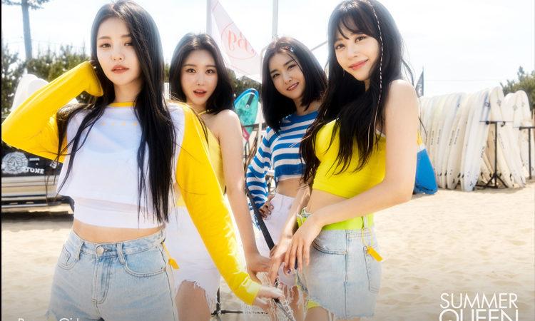 Brave Girls nos enamoran con su belleza de verano para SUMMER QUEEN