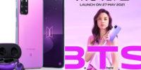 Compañía china bajo fuego al intentar promocionar su nuevo teléfono usando el nombre de BTS