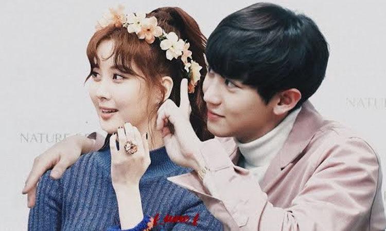Cámaras captaron un momento íntimo entre Chanyeol de EXO y Seohyun de Girls 'Generation