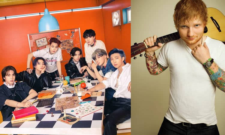 Big Hit Music también confirma la participación de Ed Sheeran en la nueva canción de BTS