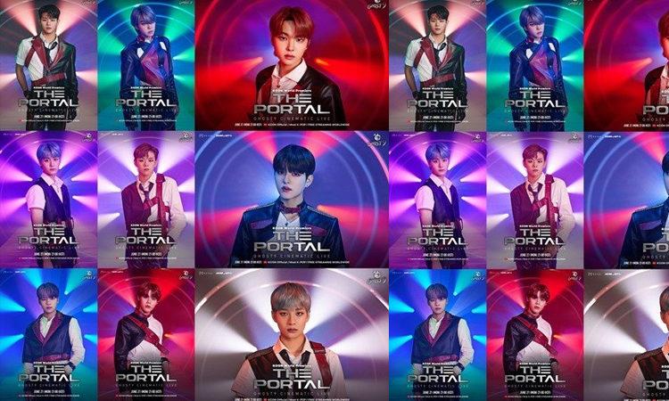 Ghost9 presenta sus poster para su presentación durante el KCON:TACT 4U