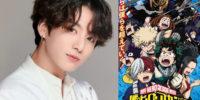 Meu anime Hero Academia está pronto para um OST feito pela Jungkook da BTS.