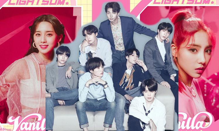 Nayoung y Chowon de LIGHTSUM admite que BTS es su inspiración en el kpop
