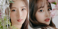 HaSeul y Chuu de LOONA continúan con su concepto de boda blanca para el mini álbum '&'