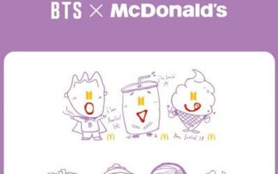 McDonald's presenta más MERCH adorable de BTS