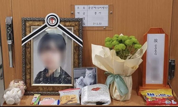 Coreanos indignados por el suicidio de una sargenta de la Fuerza Aérea que fue abusada sexualmente por un superior