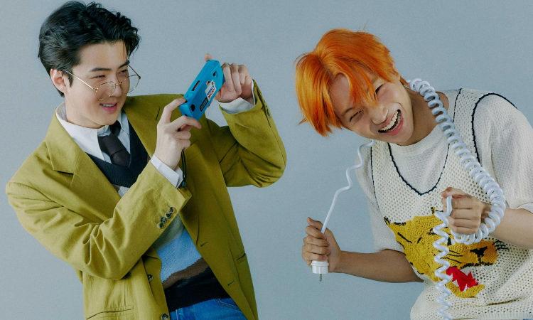 Kai y Sehun de EXO posan adorablemente en las fotos teaser de 'Don't Fight The Feeling'