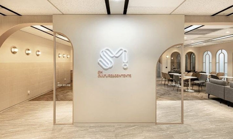 Mira como es el interior del nuevo edificio de SM Entertainment