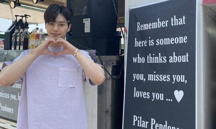 Una fan de Song Kang le envia un camión de snacks y es la sensación en el set