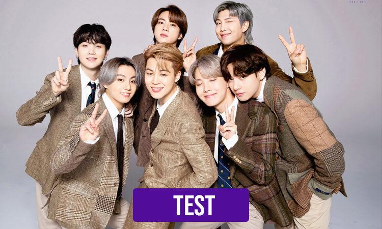 TEST:¿Que integrante de BTS gritaría tu amor a los 4 vientos?