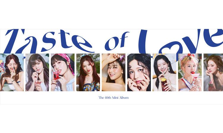 TWICE se encuentra disfrutando el Taste of Love en sus nuevas fotos individuales