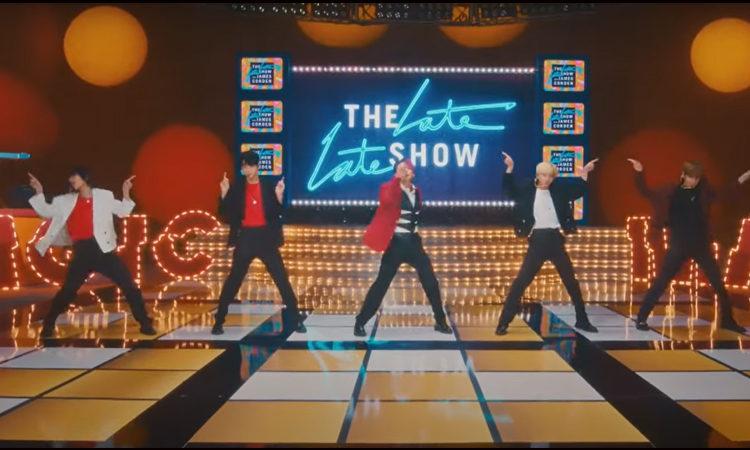 MOA¿Te perdista la perfomance de TXT con Magic en The Late Late Show with James Corden?