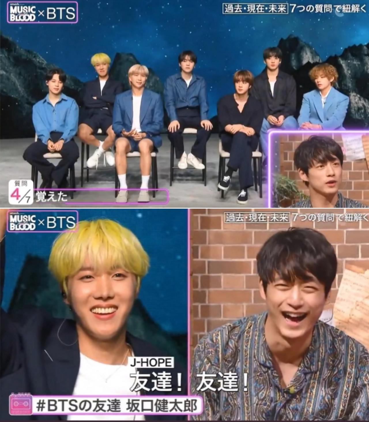 Entrevista con BTS en Music Blood