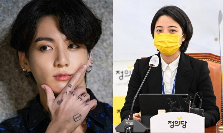 Ryu Ho Jung genera polémica por usar a Jungkook de BTS como imagen política para 'Ley de los tatuajes'