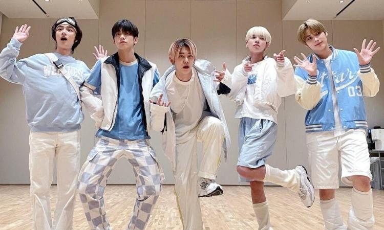 TXT se convierte en el segundo grupo masculino de K-pop más seguido en TikTok