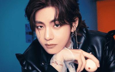 V de BTS establece nuevos récords gracias a sus vibraciones ardientes de Rockstar